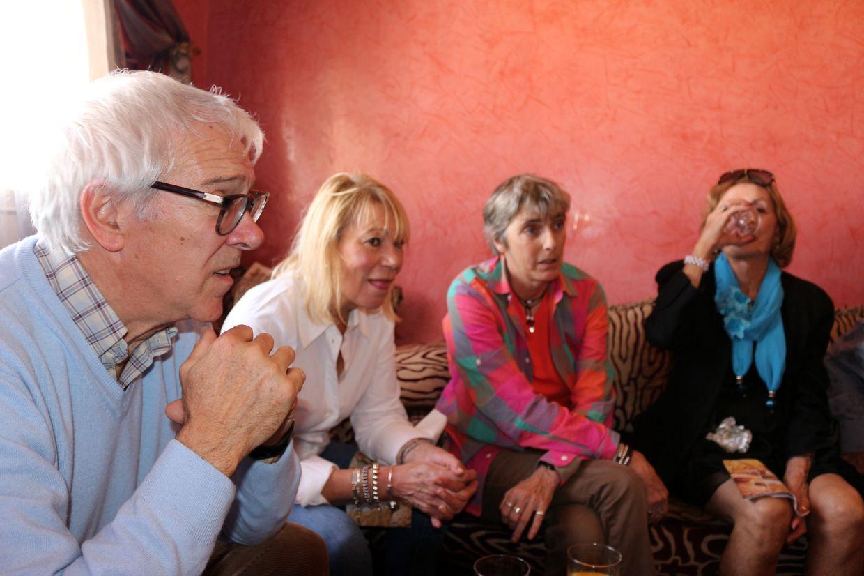 Marc, Françoise, Florence et Nelly