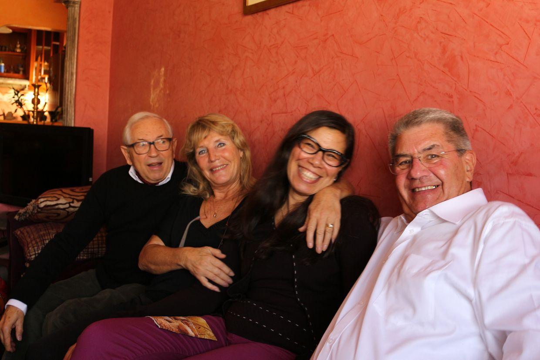 Michel et Chantal, Fairouz, et moi