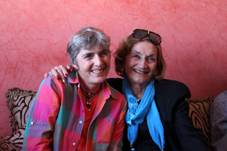 Florence et sa maman Nelly Sambrana
