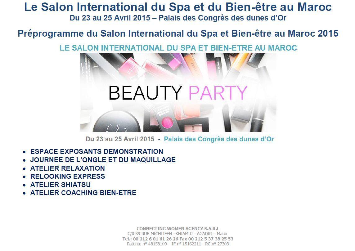 Pr sentation du 2 me salon international du spa et du bien for Salon spa et bien etre