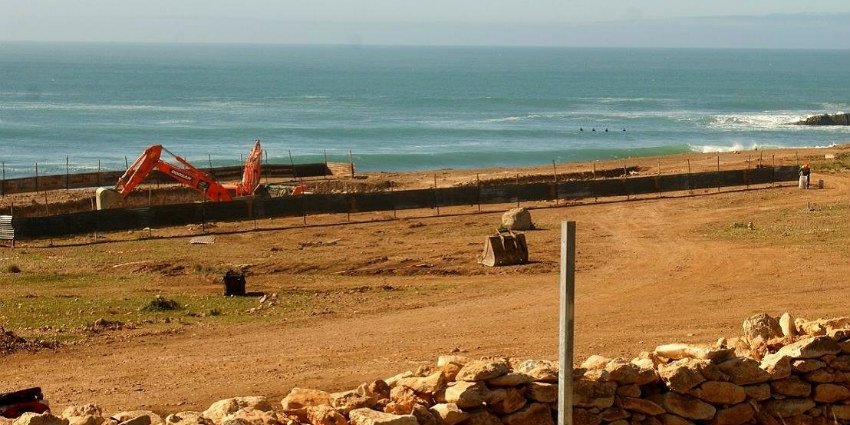 """La vague de """"Boilers"""", fermé depuis le lancement des travaux, est l'une des meilleures de la région ©DR"""