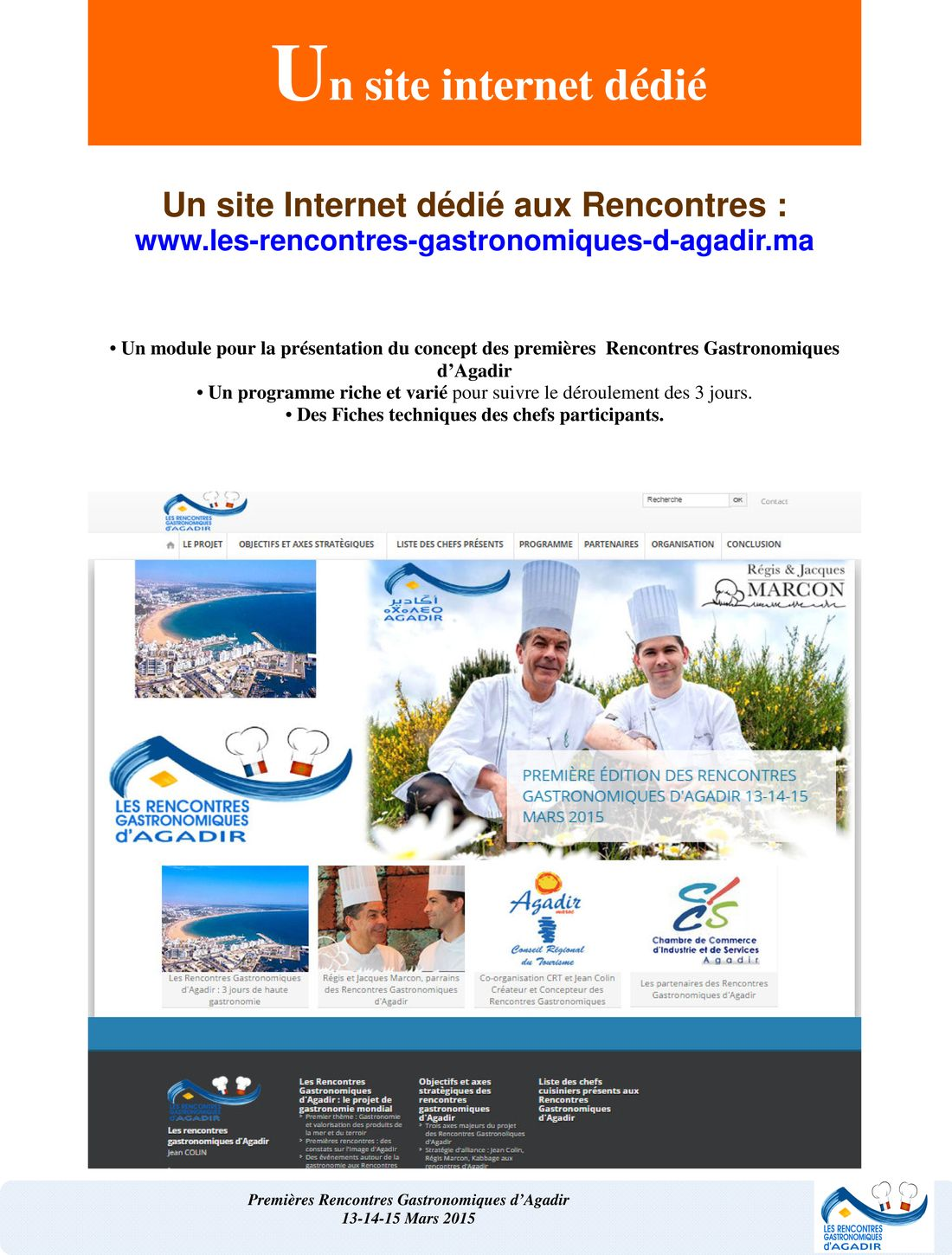 Dossier Press-Rencontres Gastronomiques d'Agadir-version finale