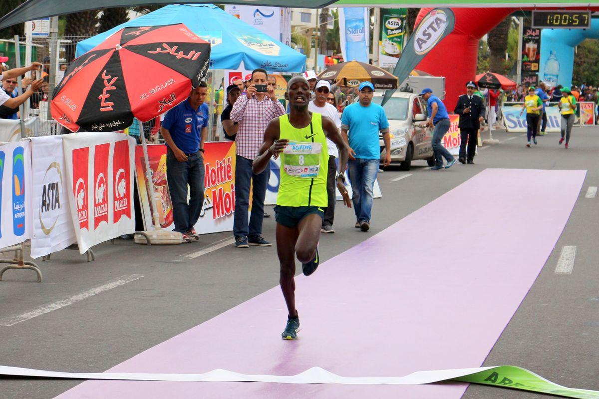 Une double victoire kényane à l'édition 2015