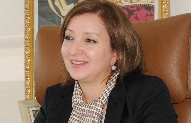 Majida Maârouf Directrice de l'Agence nationale pour le développement de l'aquaculture (ANDA).