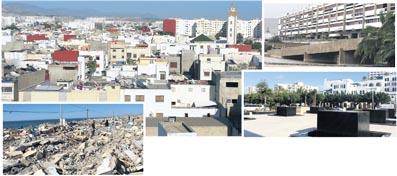 Bidonvilles rasés, quartiers périphériques «hors normes», bâtiments anciens, ville nouvelle... Le plan d'aménagement urbain du Grand Agadir compte apporter des corrections aux disparités sociales de la ville, et surtout permettre le développement de la richesse et de la croissance