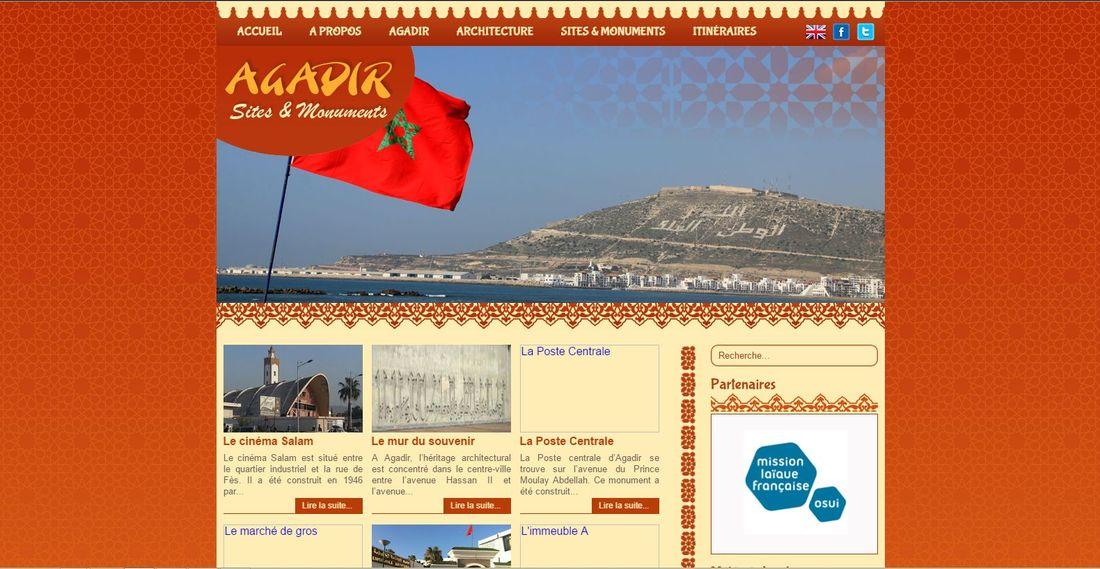 Le site Agadir monuments.com