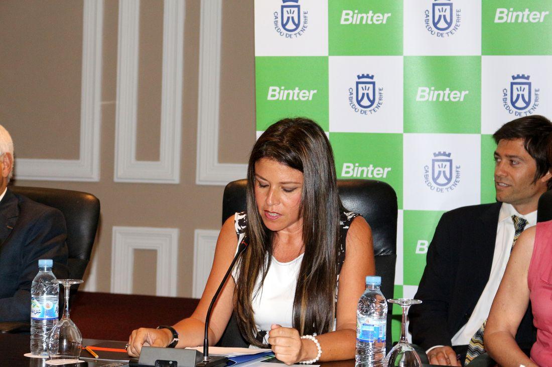Mme Delia HERRERA, Conseillère de l'Action Extérieure du Conseil Insulaire de Tenerife