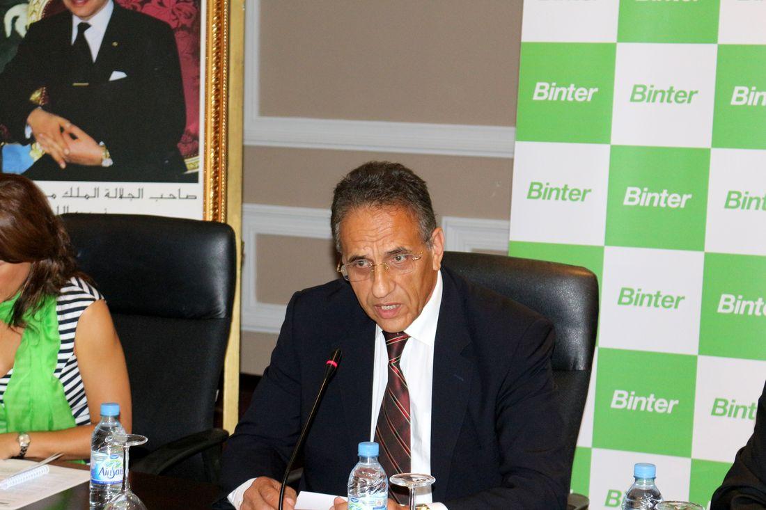 M. le Vice-Président du CRT d'Agadir